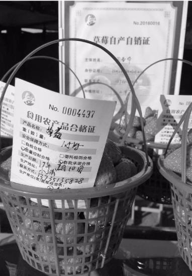 浙江全面启用食用农产品合格证 一证一码创全国第一