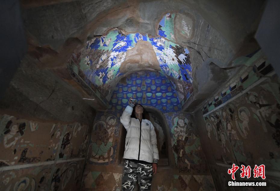 百余幅流失海外克孜尔石窟壁画及洞窟复原影像兰州展出