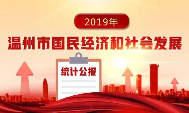 温州2019年国民经济和社会发展统计公报公布