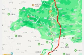 8月2日起,诸永高速部分路段断流施工,过往车辆注意绕行!